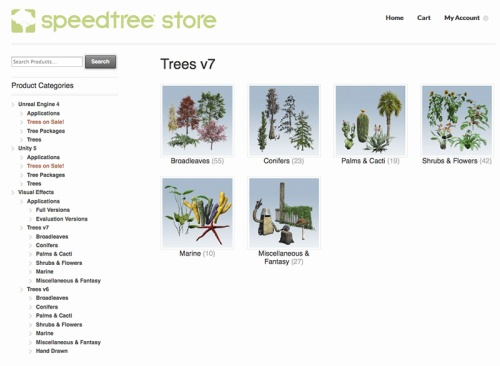 SpeedTree, Part 1 – Studio EB