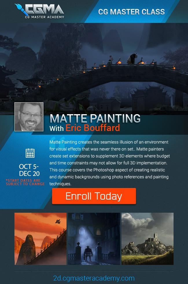 Matte Painting - Eric Bouffard(1)
