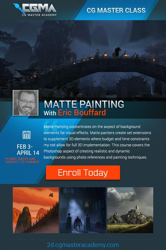 Eric Bouffard - Matte Painting copy